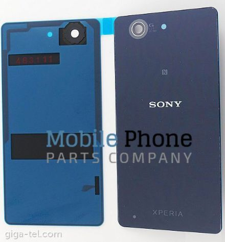 Genuine Sony Xperia Z3 Compact Battery Back Cover With NFC Black - Part No: 1285-1181